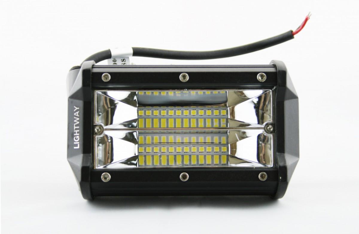 Светодиодная фара Lightway 48W 13,5 см (рабочий свет)