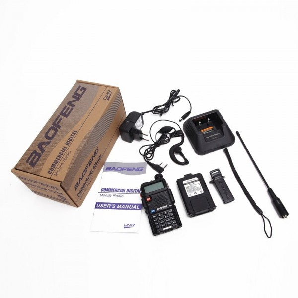 Рация Baofeng DM-5R Plus Tier2 (аналогово-цифровая)