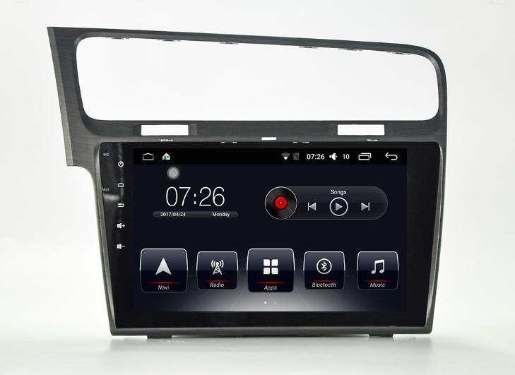 Штатная магнитола на Android T10 для VW Golf 7