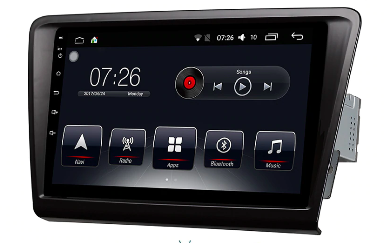 Штатная магнитола на Android T10 для Skoda Rapid MQB