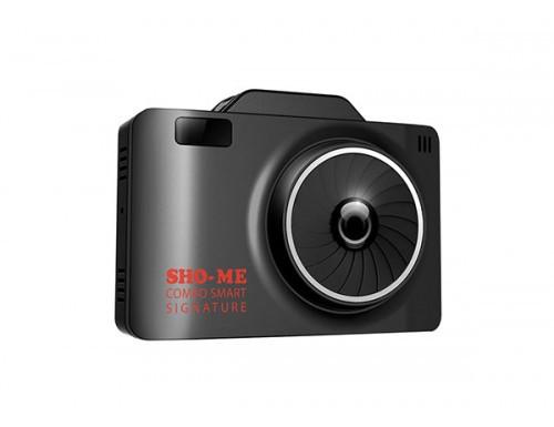 Видеорегистратор + антирадар Sho-Me Combo Smart Signature