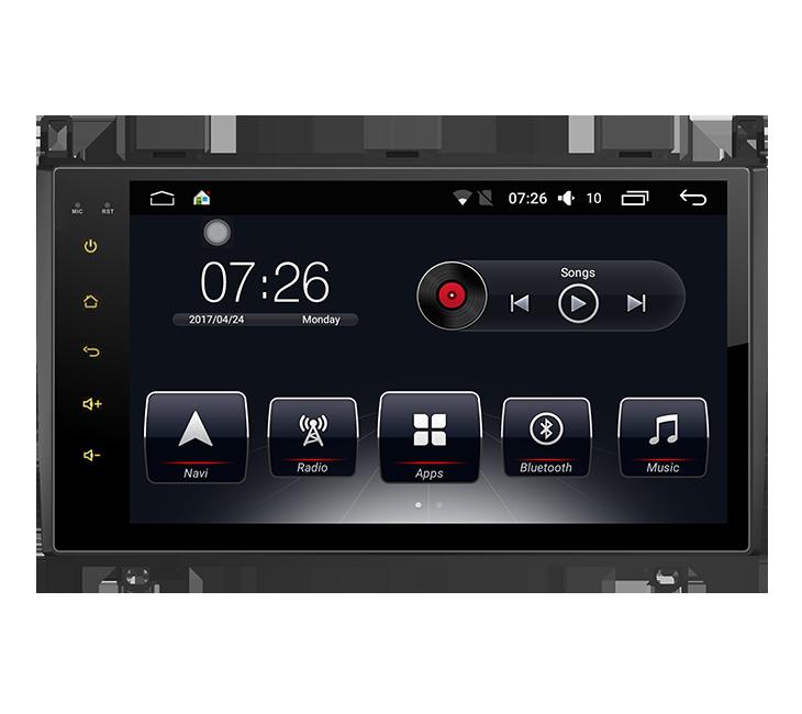 Штатная магнитола на Android T10 для Mercedes-Benz A-Class W169, B-Class W245, Viano/Vito W639, Sprinter W906