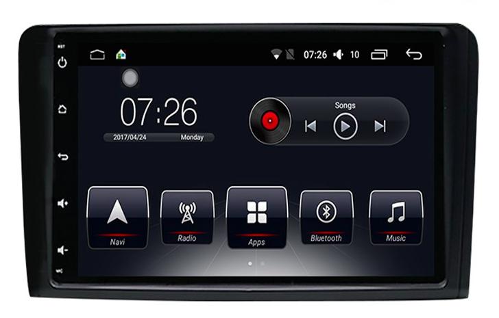 Штатная магнитола на Android T10 для Mercedes-Benz ML Class W164, GL Class X164