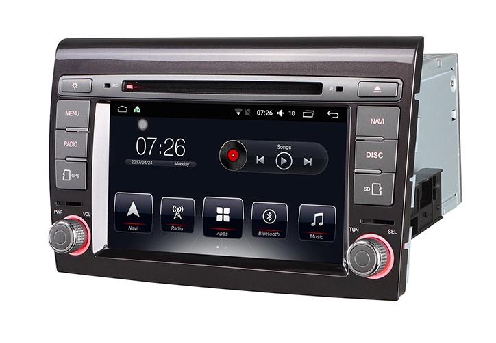 Штатная магнитола на Android T10 для Fiat Bravo/Punto