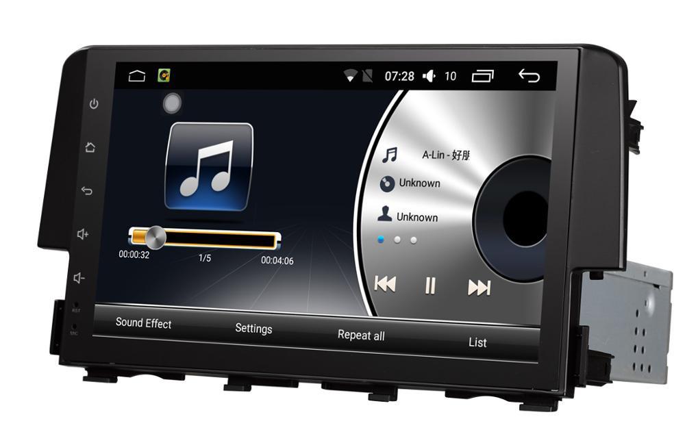 Штатная магнитола на Android для Honda Civic X