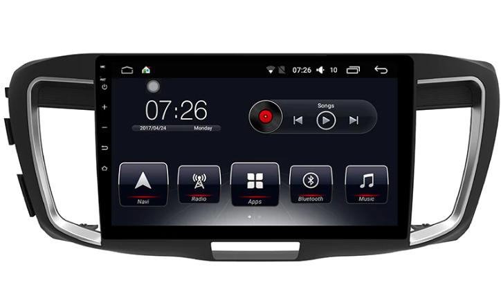Штатная магнитола на Android T10 для Honda Accord IX