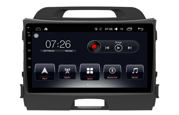 Штатная магнитола на Android T10 для KIA Sportage III