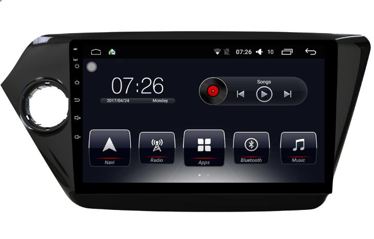 Штатная магнитола на Android T10 для KIA Rio III