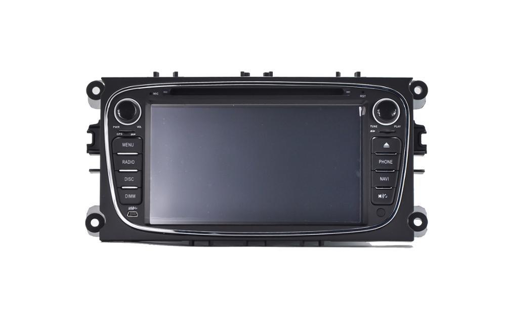 Штатная магнитола на Android T10 для Ford Mondeo IV, FOCUS II , S-MAX I, GALAXY II