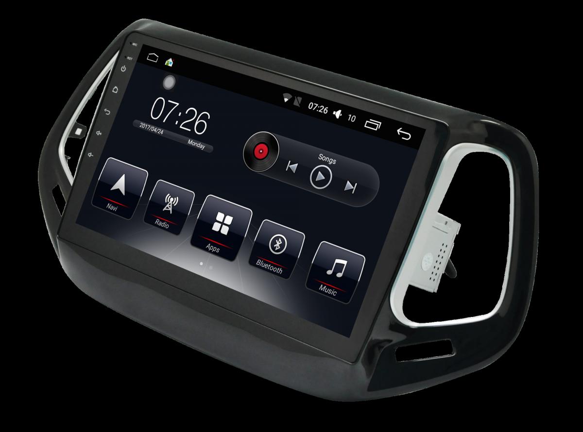 Штатная магнитола на Android T10 для Jeep Compass II
