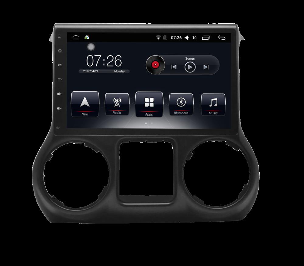 Штатная магнитола на Android для Jeep Wrangler III (JK)