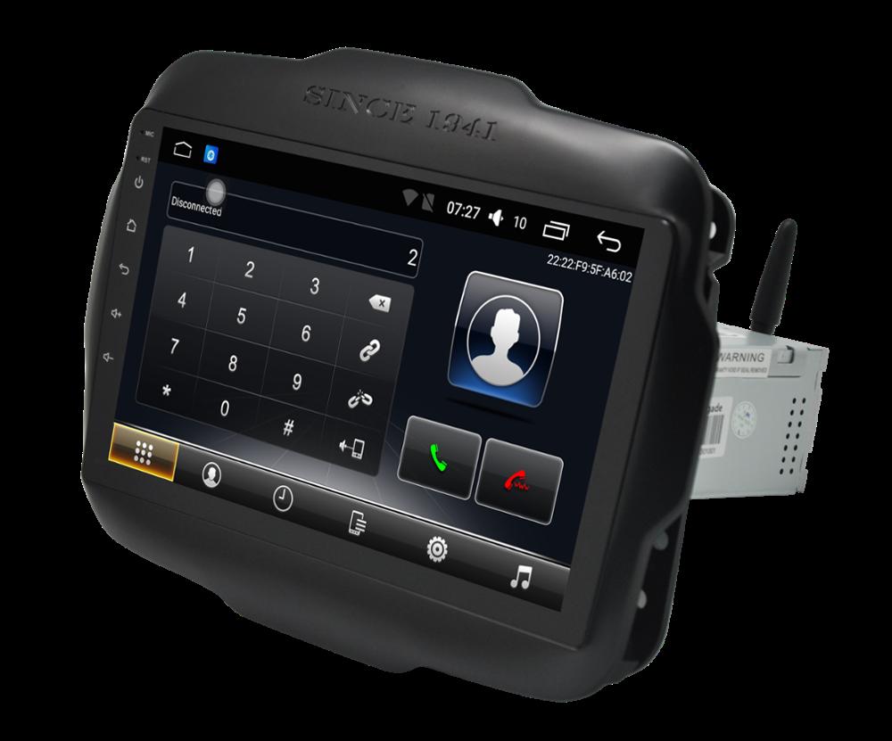 Штатная магнитола на Android T10 для Jeep Renegade
