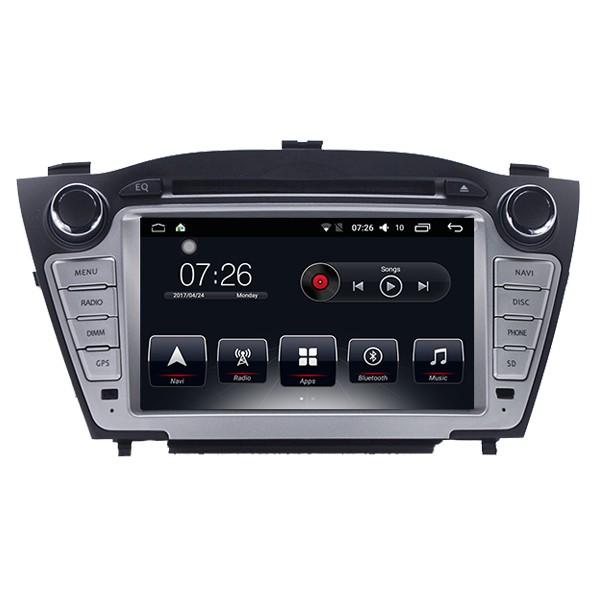 Штатная магнитола на Android T10 для Hyundai IX35, Hyundai Tucson II