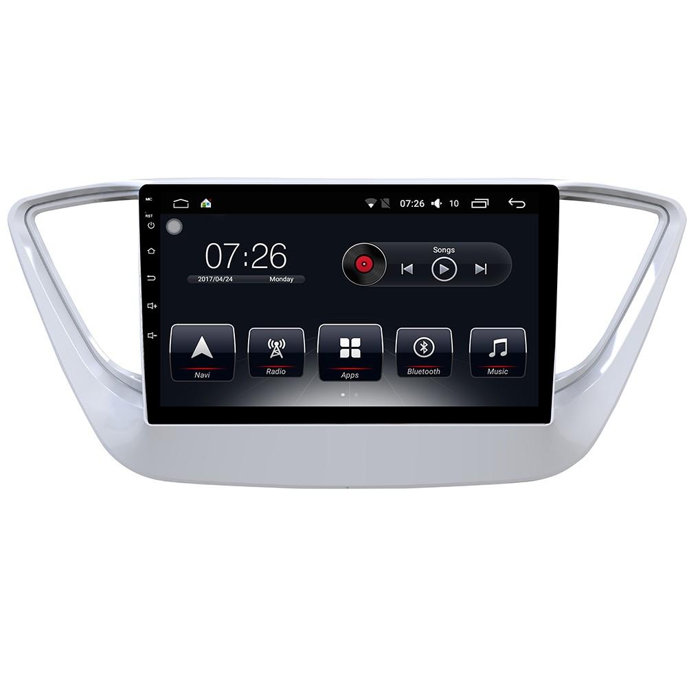 Штатная магнитола на Android T10 для Hyundai Solaris II