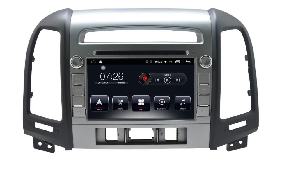 Штатная магнитола на Android T10 для Hyundai Santa Fe II