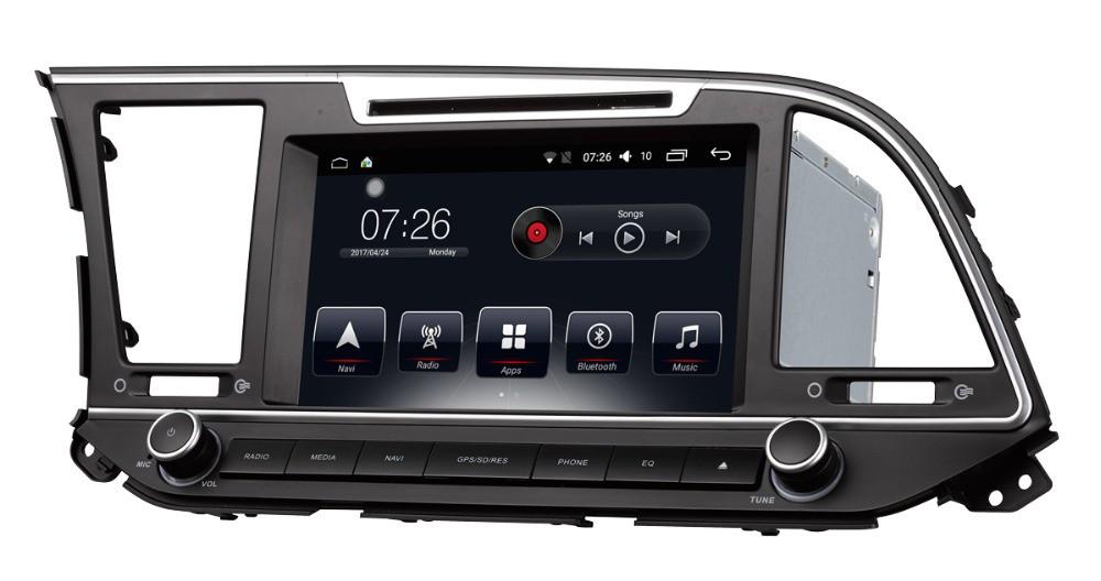 Штатная магнитола на Android T10 для Hyundai Elantra VI (AD)
