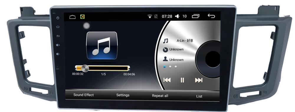 Штатная магнитола на Android T10 для Toyota RAV 4 IV (CA40)