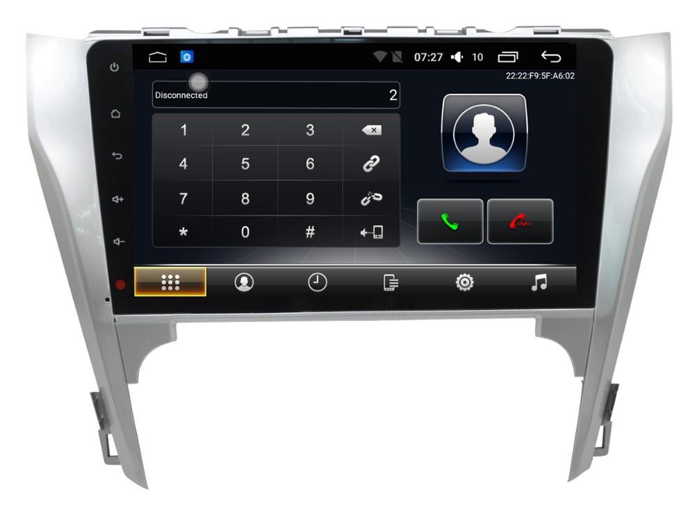 Штатная магнитола на Android T10 для Toyota Camry VII (XV50)