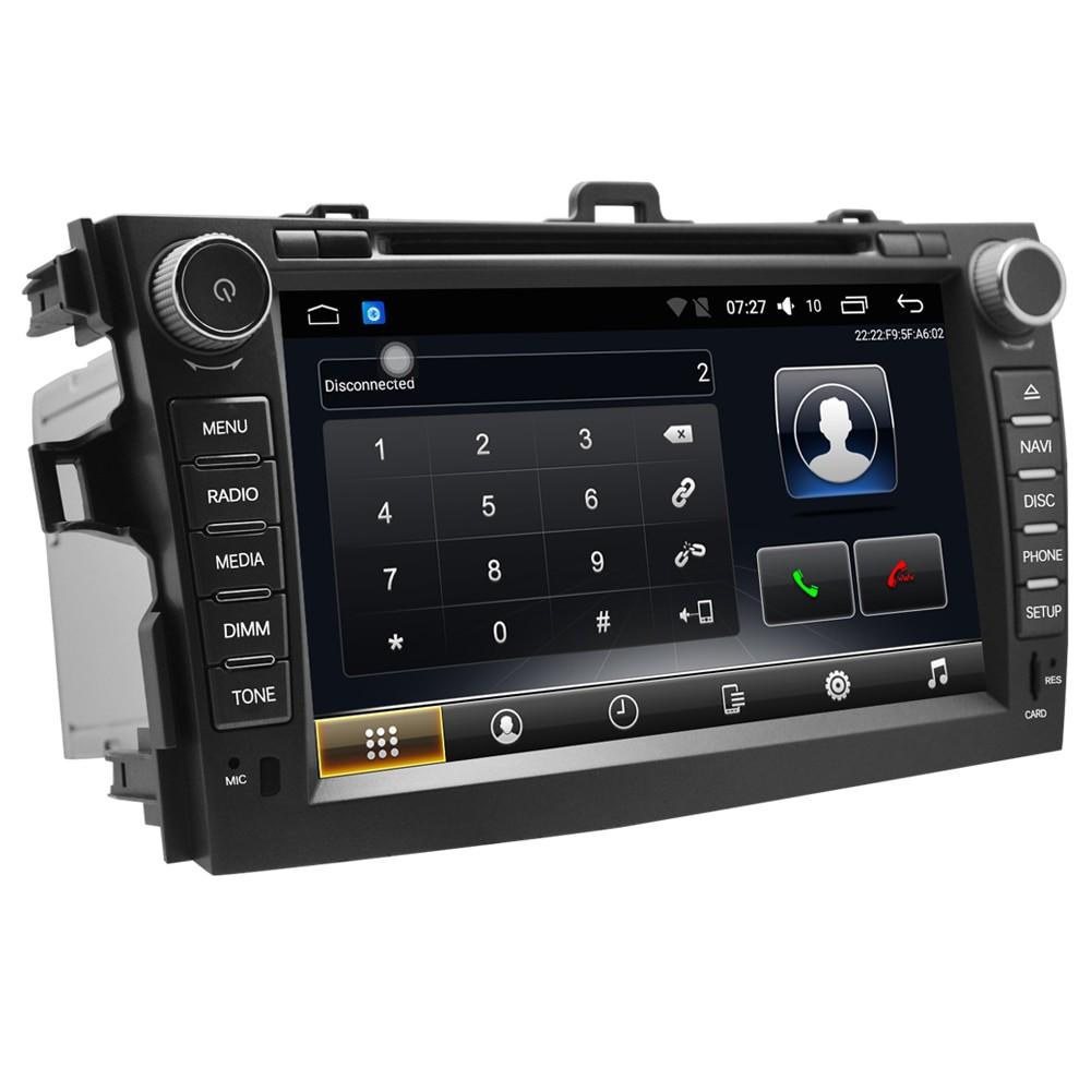 Штатная магнитола на Android T10 для Toyota Corolla X (E140, E150)