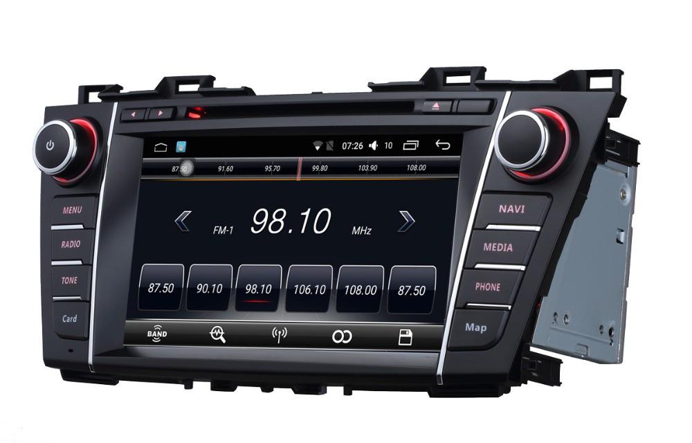 Штатная магнитола на Android T10 для Mazda 5 II (CW)