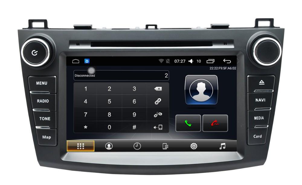 Штатная магнитола на Android T10 для Mazda 3 II (BL)