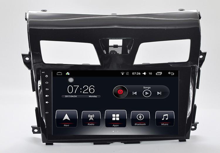 Штатная магнитола на Android T10 для Nissan Teana III