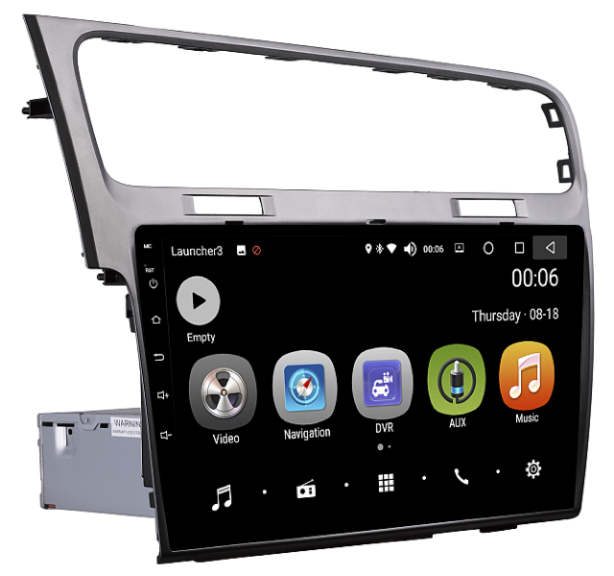 Штатная магнитола на Android PX5 для VW Golf 7