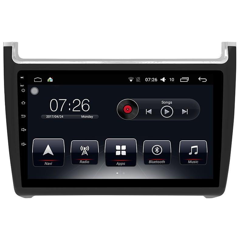 Штатная магнитола на Android T10 для VW Polo