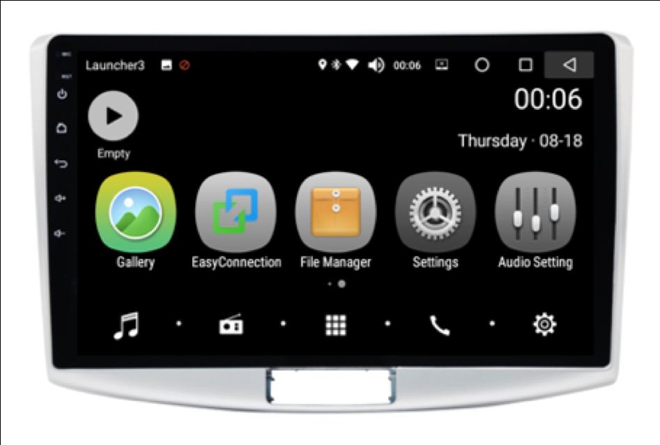Штатная магнитола на Android PX5 для Volkswagen Passat B6/B7, Passat CC