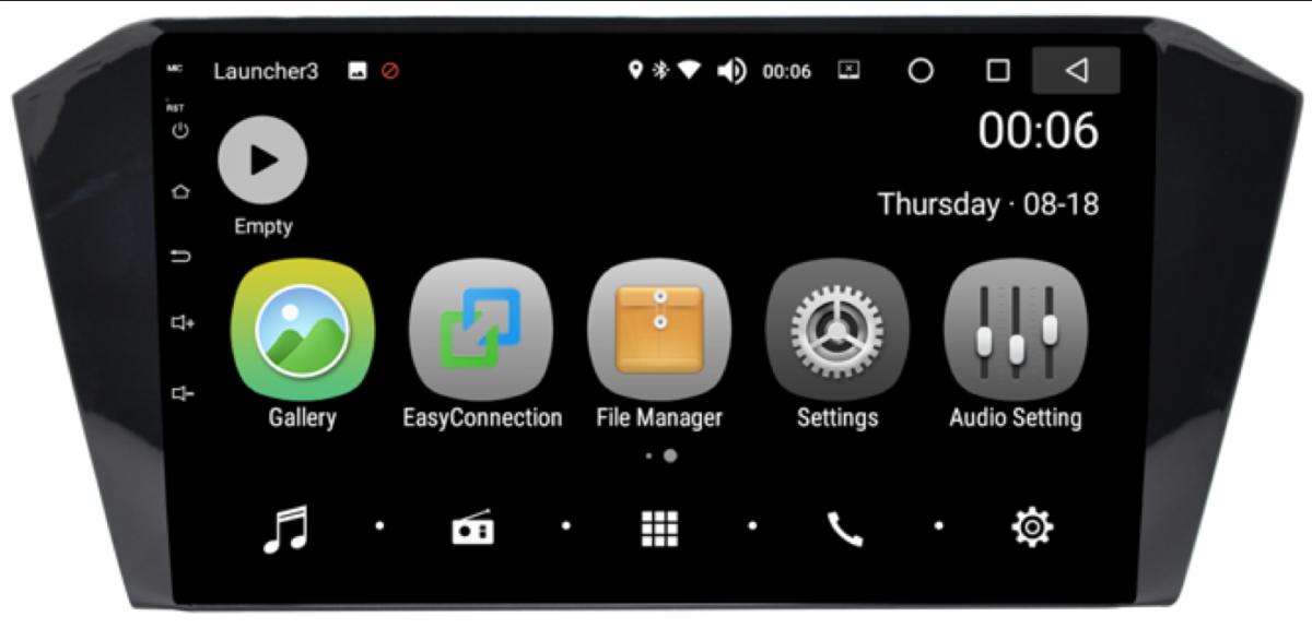 Штатная магнитола на Android PX5 для Volkswagen Passat B8