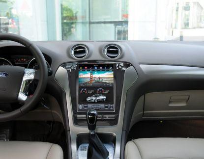 Магнитола в стиле Tesla для Ford Mondeo IV рестайл (2010-2014)