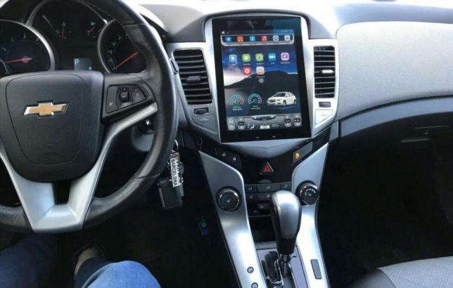 Магнитола в стиле Tesla для Chevrolet Cruze I дорестайл
