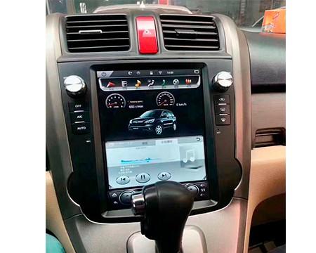 Магнитола в стиле Tesla для Honda CR-V III Рестайлинг (2009-2012)