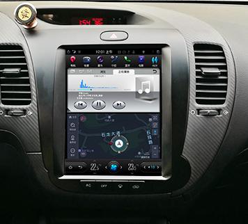 Магнитола в стиле Tesla для Kia Cerato III (2013-н.в.)