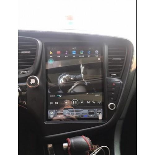 Магнитола в стиле Tesla для Kia Optima III (2010-2015)