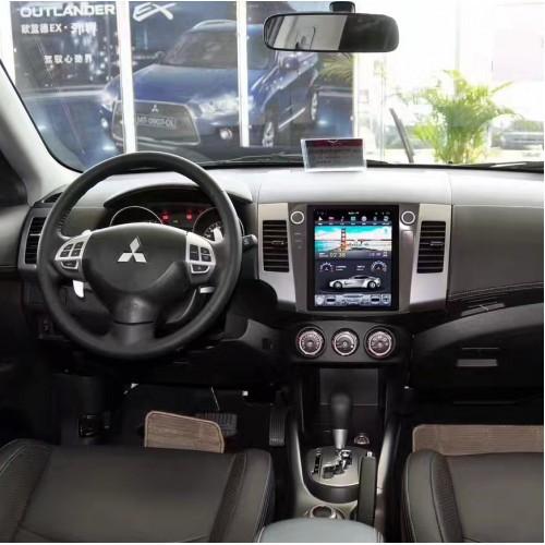 Магнитола в стиле Tesla для Mitsubishi Outlander II (2005-2013)