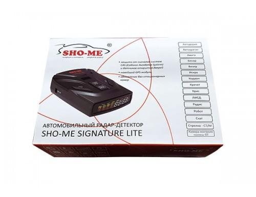 Радар-детектор Sho-Me Signature Lite + Коврик
