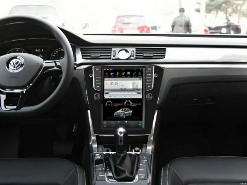Магнитола в стиле Tesla для Volkswagen Passat B8 (2014-2019)