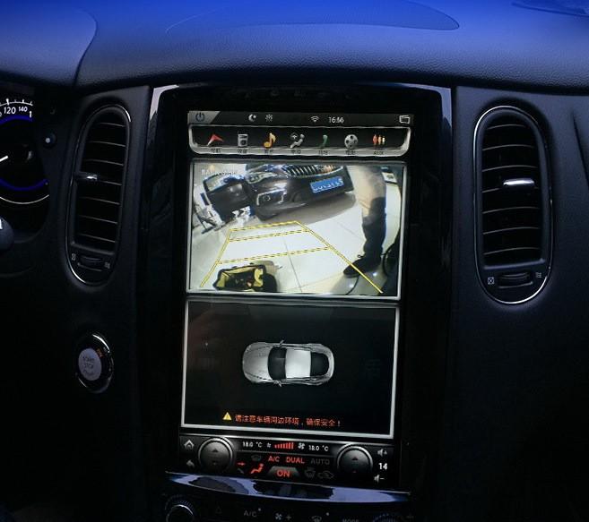 Магнитола в стиле Tesla для Infiniti QX50 I Рестайлинг (2015-2017)