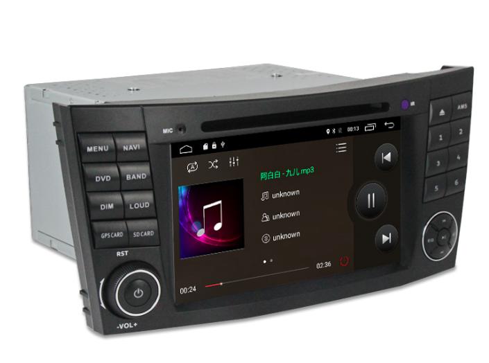 Штатная магнитола на Android MKD для Mercedes-Benz E-Class W211