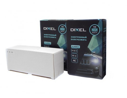 Комплект ксенона Dixel Classic AC 35W (лампы PH)