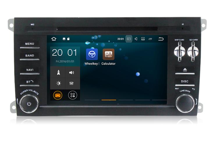 Штатная магнитола на Android MKD для Porsche Cayenne I