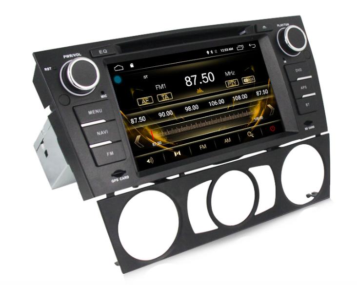 Штатная магнитола на Android MKD для BMW 1 e81, e82, e87, e88 без климата