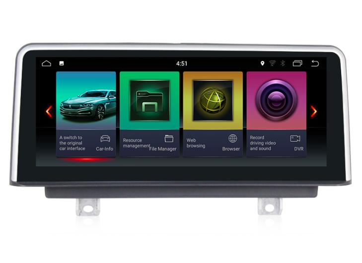Штатная магнитола на Android для BMW 1 F20/F21, X1 F48