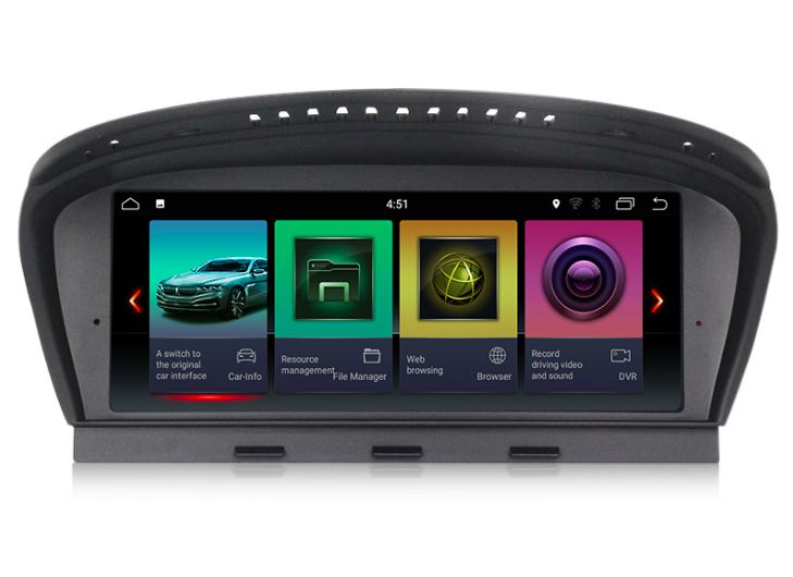 Штатная магнитола на Android для BMW 3 e90, BMW 5 e60
