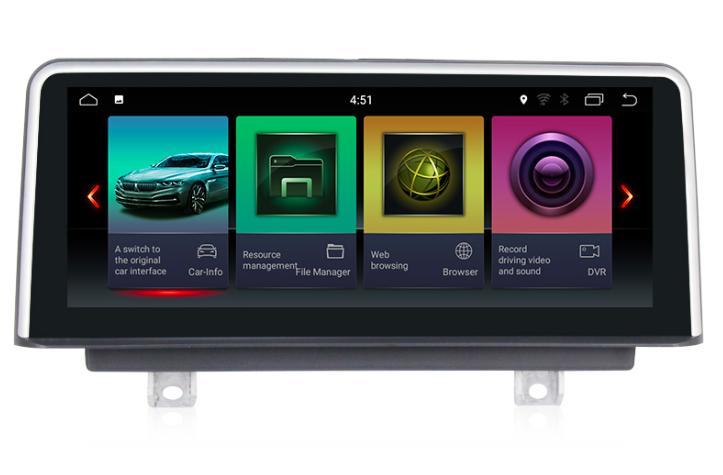 Штатная магнитола на Android для BMW 3 F30/F31/F34,  4 F32/F33/F36
