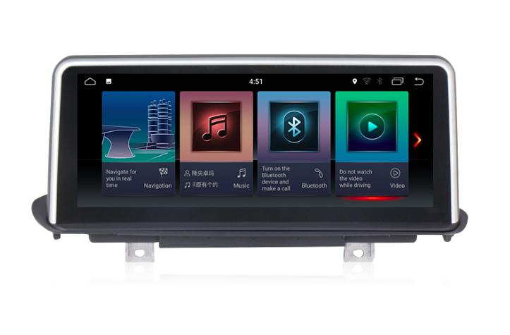 Штатная магнитола на Android для BMW X5 F15
