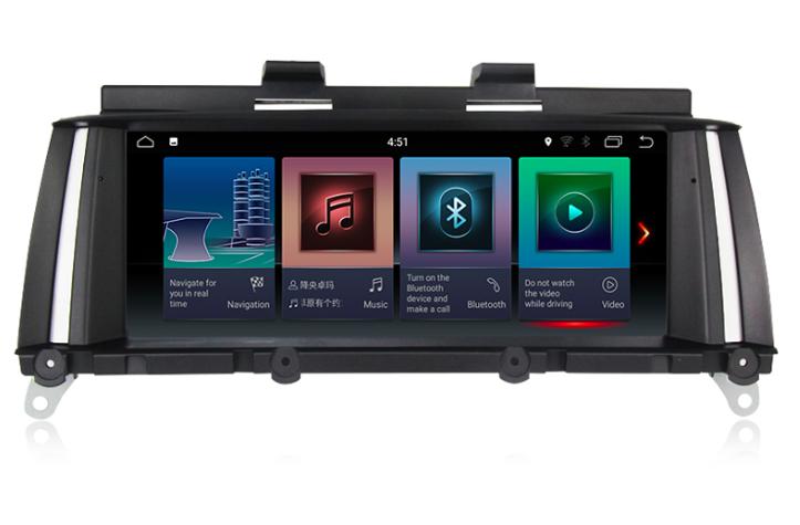 Штатная магнитола на Android для BMW X3 F25, X4 F26