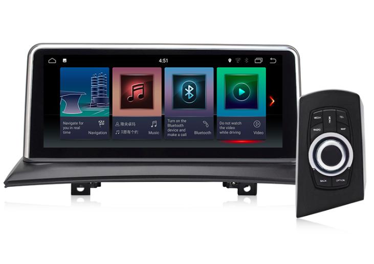 Штатная магнитола на Android для BMW X3 E83