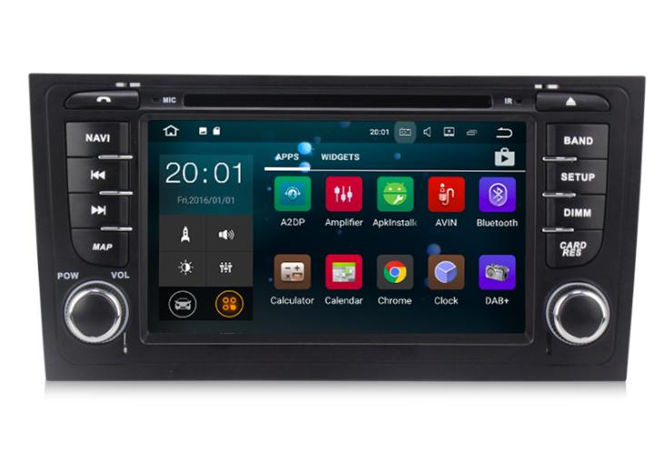 Штатная магнитола на Android MKD для Audi A6 C5